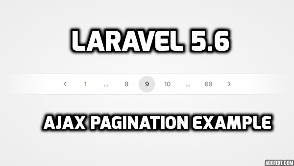 PHP Laravel 5 6 JQuery Ajax Pagination Tutorial - HDTuto com
