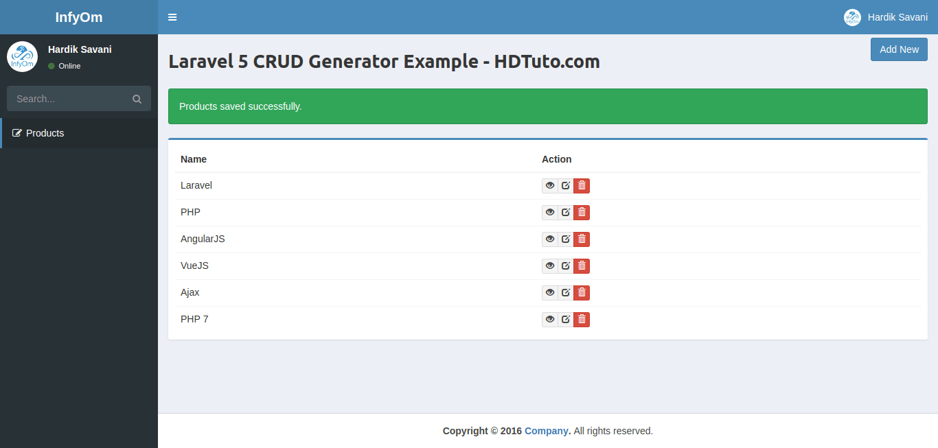 How To Install Crud Admin Generator